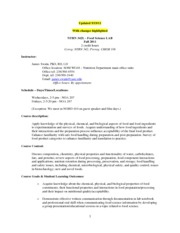 NTRN 342 LAB Syllabus Fall 2011 - updated Sept 19 2011