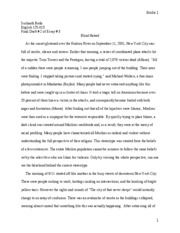 Final Draft # 2 Essay # 3