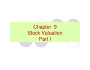 Ch 9 stocks Part I-1