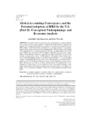 Global Accounting Convergence Part I