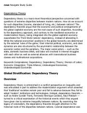 Dependency Theory Research Paper Starter - eNotes.pdf