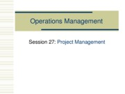 311_Session27_Project Management