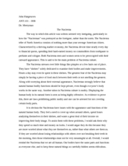 Nacirema essay