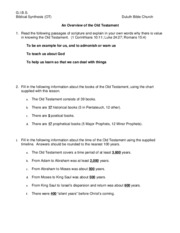 01-OT Overview Worksheet Answers