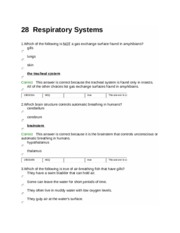 28-Respiratory Systems