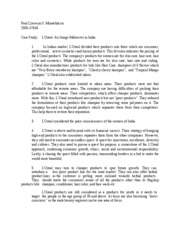 l oreal firm analysis essay