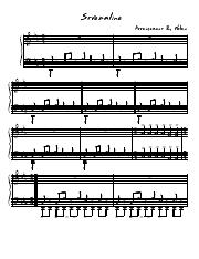System Of A Down-Streamline-SheetMusicDownload.pdf