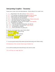 Interpreting Graphics 2 answer key.docx - Interpreting ...