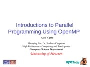 shortCourse-OpenMPTutorial