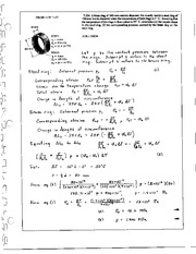 866_Mechanics Homework Mechanics of Materials Solution