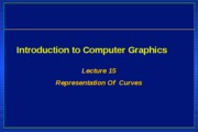 CG-lecture15