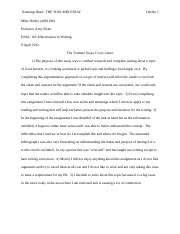 Engl 102 mike toulmin essay running head the toulmin essay hurley