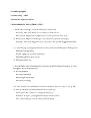 practice questions for exam 1.docx- chapter 1to 4