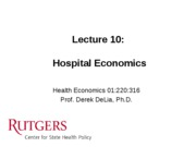 LECTURE+10+-+Hospital+Econ