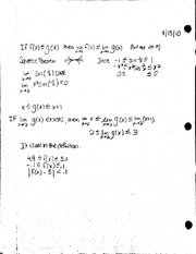 Limit theorem notes