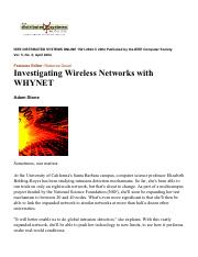 Investigating Wireless Networks with WHYNET.pdf