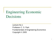 ECON320_1_EngineeringEconomicDecisions