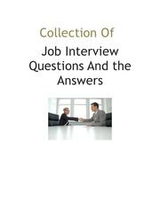 collection-of-job-interview-questions-and-the-answers