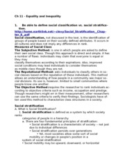 Ch 11 - Equality and Inequality.doc