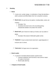 marketing lecture 11_12_Notes