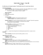 Study Guide Exam 2 com 240 part 1