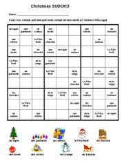 french_christmas_sudoku