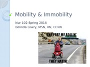 Mobility & Immobility.pptx