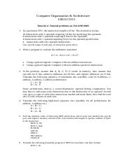 Tutorial Sheet 4 ISA AND 8085.docx