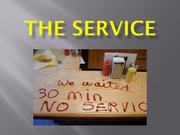 Lecture 7 - THE SERVICE