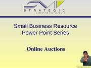 SMV Mini Series - Online Auctions