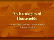 Archaeologies+of+Households