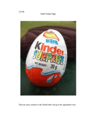 kinder eggs #4_Essay