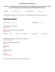 Mother-Baby worksheet #2.doc