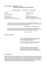 syllabus mis6319 002 spring 2014 Course syllabus spring 2014 course schedule: the course schedule is provided in a separate document on blackboard and the class website reading assignments reading assignments are posted on the class schedule.