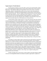 Negative impacts of Textile industries.docx
