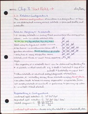 Chapter 8 Text Notes, Electron Configurations