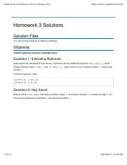 cs61a homework 3 solutions