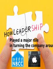 How LEADERSHIP played a major role in turning