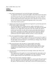Supply Chain Chapter 3 questions.docx