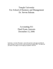 2006 Fall Accounting_011_Fall_2006___final_exam___answers