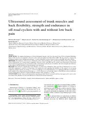 ultrasound assessment of trunk muscles and back flexibility.pdf
