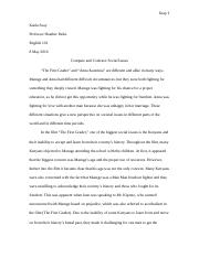 World Literature; Week Two Short Essay.docx