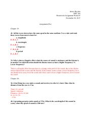 PHY 100 Assignment #5.docx