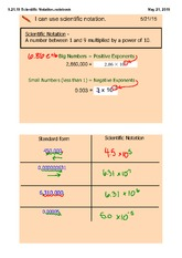 how to write large numbers in e notation