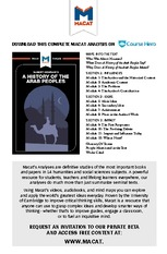 A Macat Analysis of The History of the Arab Peoples (Albert Hourani)_Macat StudyGuide