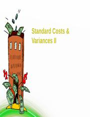 Lecture 04 Standard Costing II