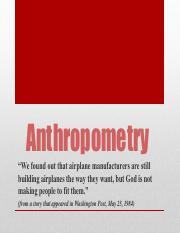 IE 160 Lec 4 - Anthropometry.pdf