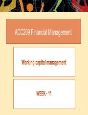 Week 11 - Working capital management.pdf