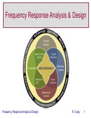 Frequency Response Analysis and Design KCC 2013