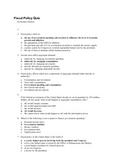 EC-Fiscal-Policy-Quiz-ANSWERS
